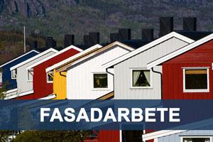 Fasadarbete Stockholm