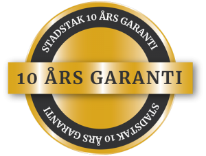 Stadstak Garanti 10 år